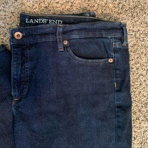 Lands' End Fit 2 Straight Leg Denim Jeans
